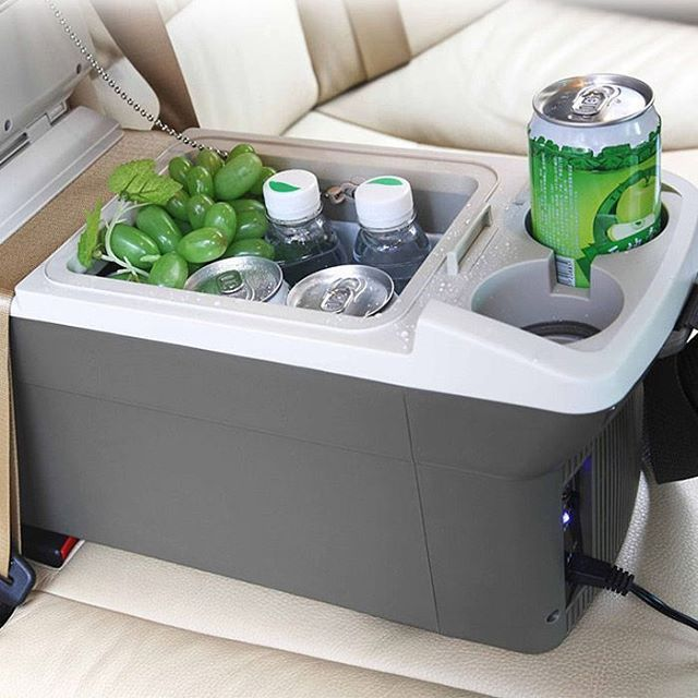 If you're planning to go on a long trip then you'd want to keep your drinks cool. This mini fridge plugs into your car's lighter socket and can hold up to 8 small cans. *Don't drink & drive! just stick to the pepsi! :)It has 12% off now ,the coupon code is :Happyday07 - Follow us for more awesome products. #gearbest #gadget #gad...