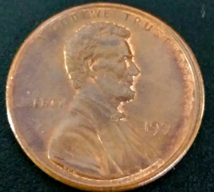 199? Penny Off Center Strike Missing Date And Liberty Grease Filled Mint Error | Coins & Paper Money, Coins: US, Errors | eBay!