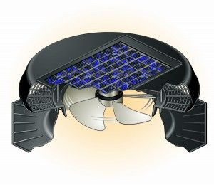 Ventilate the attic with a Solatube Solar powered attic fan - helps keep the home cool and the energy bills low!