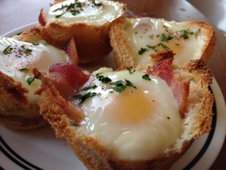 Breakfast Cupcakes | Breaking the Fast | Pinterest