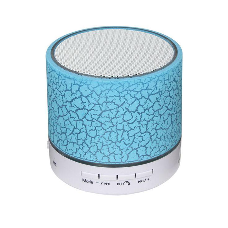 100% Brand New MINI Wireless Bluetooth Speaker USB speakers Portable Music Sound Box Subwoofer hand-free call LED Speaker