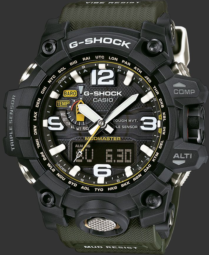 G-SHOCK : GWG-1000-1A3ER