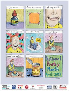 2015 National Poetry Month poster. poets.org