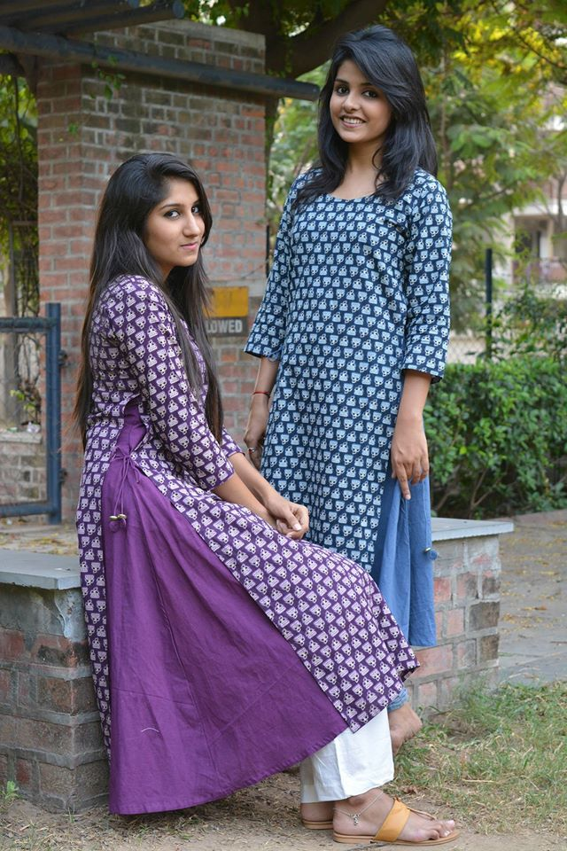Two layer Kurtis: PAON