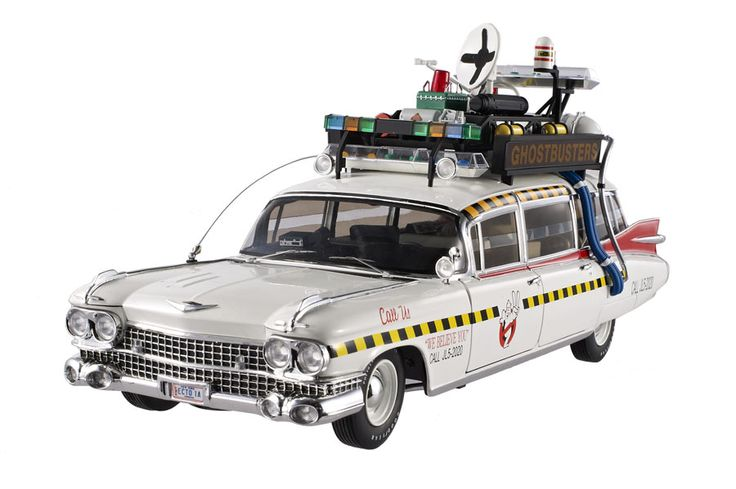 coche los cazafantasmas 2 ghostbusters ii ecto 1a. Black Bedroom Furniture Sets. Home Design Ideas