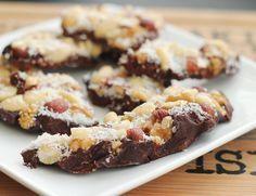zelf gezonde chocolade repen maken met kokosolie, cacao en banaan #gezond #recept