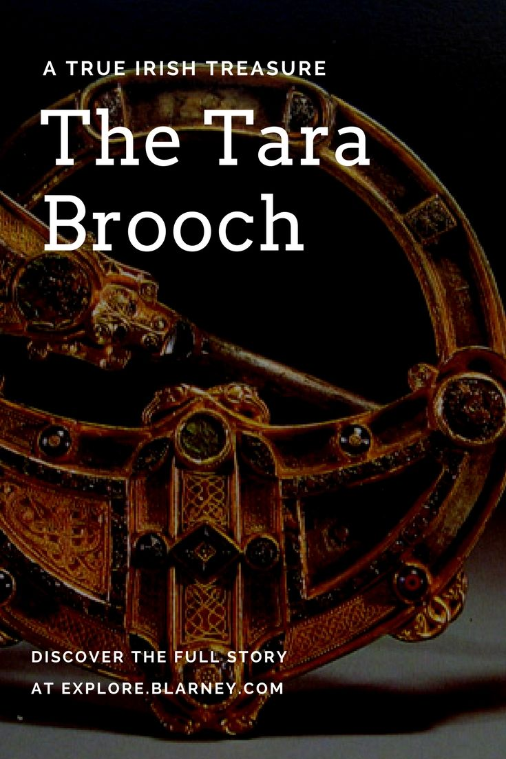 The Tara Brooch was discovered in 1850. Since then it has become a world-renowned icon of ancient Irish design. Learn more in our blog. #blog #brooch #ireland #IrishHistory #IrishDesign #TaraBrooch #CelticHistory #Jewelry