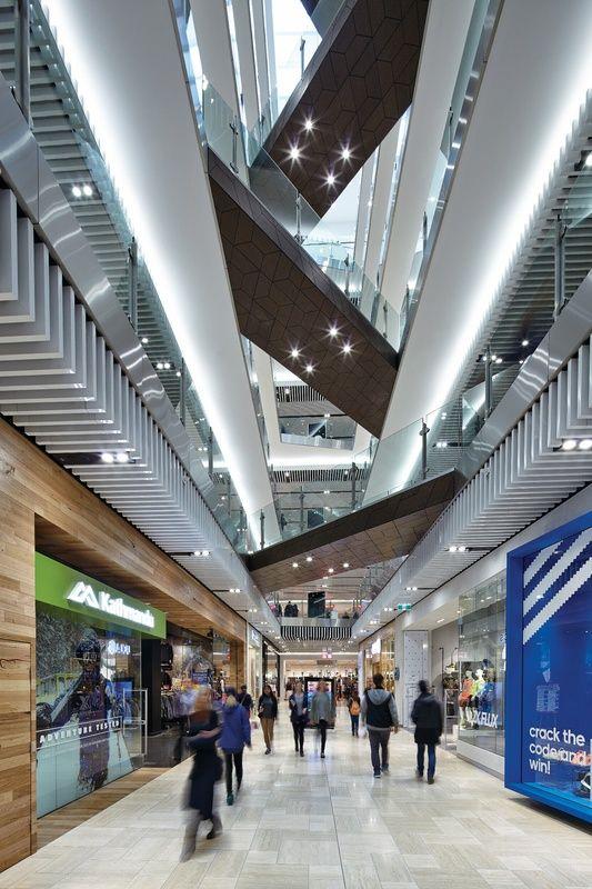 Inner city agora: Emporium Melbourne | ArchitectureAU                                                                                                                                                                                 More