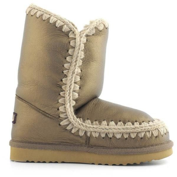 Mou Eskimo 24 Limited Edition Pearl Nappa Bronze - MOU #mou #fashion #newshoes #women #streetstyle