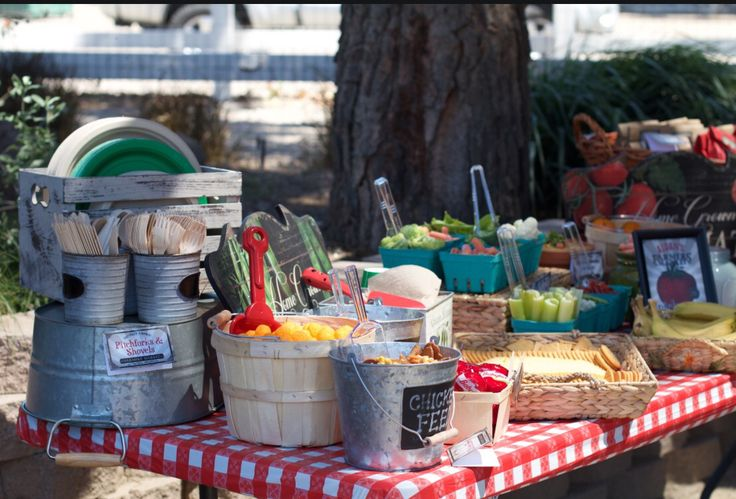50 best Farmers Market Birthday Party images on Pinterest ...