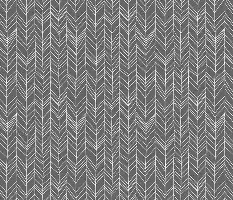 Featherland Gray fabric