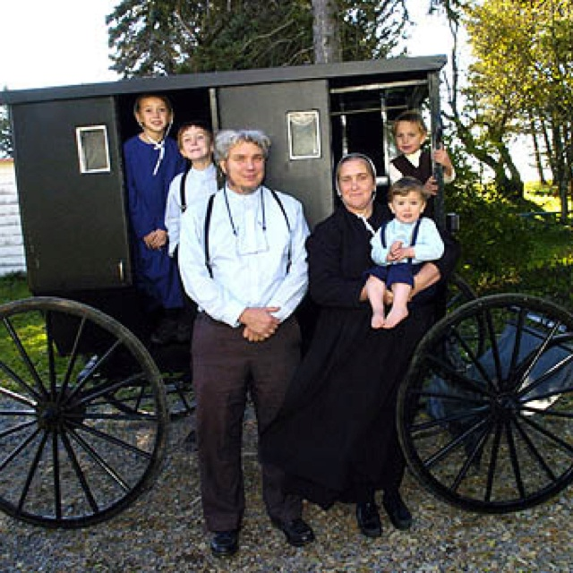 how to meet an amish family