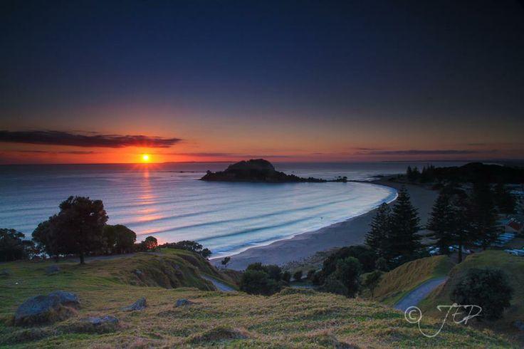 The Mount   near Tauranga New Zealand