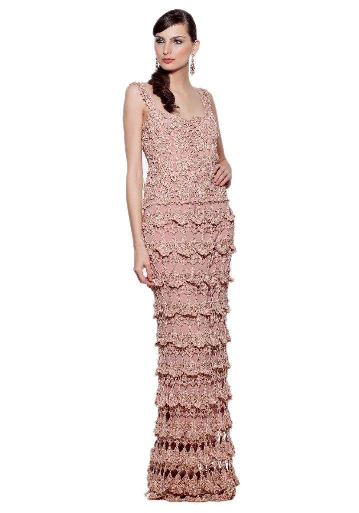 133 best Pale pink crochet dress images on Pinterest | Crochet ...