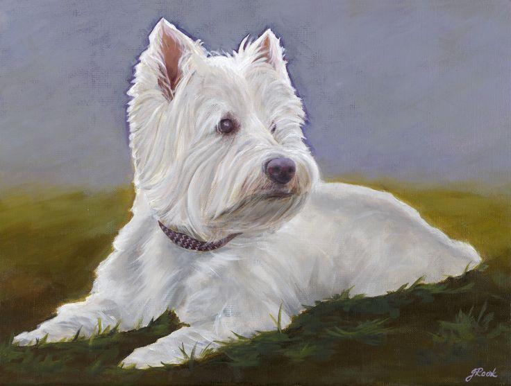 """Dutchie"" Acrylic on canvas 30 x 40cm"