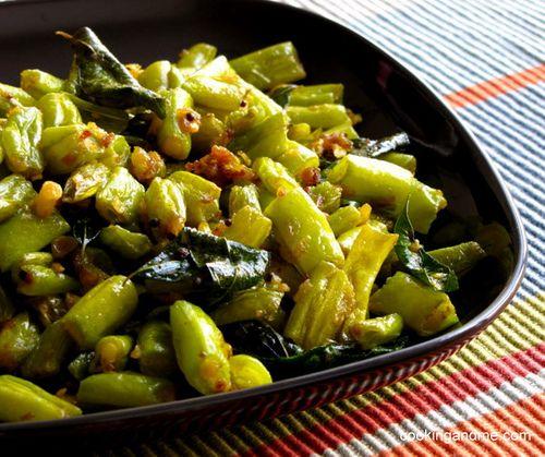 Beans Mezhukkupuratti / Stir Fry II