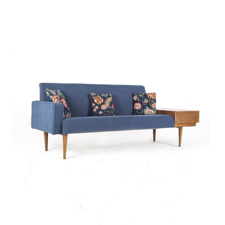 teak wood : sofa and side drawer, mid century. #withpatinainterior by Hendra Wijaya, Indonesia.  Click picture for more angles..
