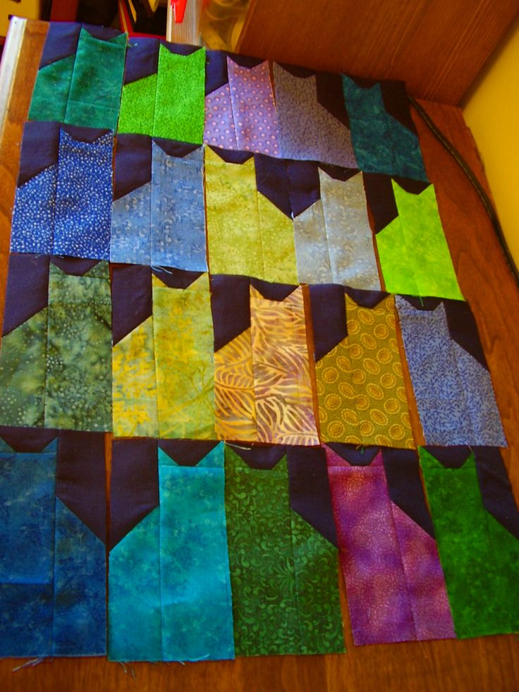 Odd Cat Stitches I Want More Cats Quilting Cat Quilt