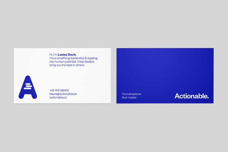 Actionable — Underline Studio