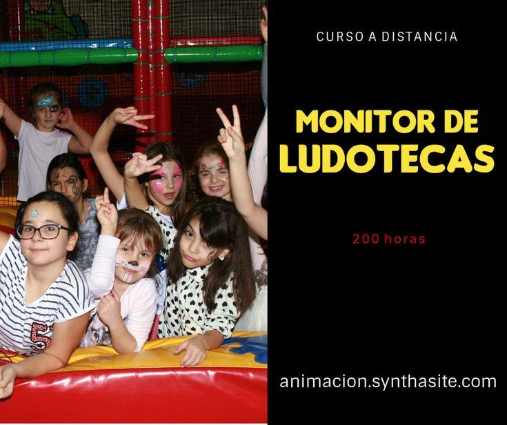 Curso Monitor de Ludotecas. #cursos #formacion #ludotecas #monitores #educacion #infantil #juegos #educador #social