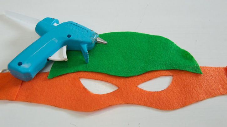 No-sew masks and life-size turtle shells are the perfect additions to any Teenage Mutant Ninja Turtle party!