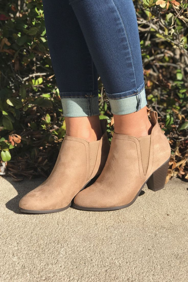 Garda Boots- Taupe from Chocolate Shoe Boutique