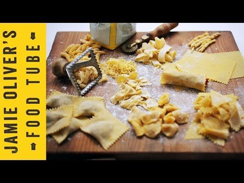 Video recipes, tv shows, how tos and more | Jamie Oliver Videos | How To Make Pasta Shapes | Jamie's Comfort Food | Gennaro Contaldo