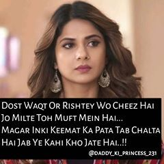 True !!! (With images) | Maya quotes, Jennifer winget ...