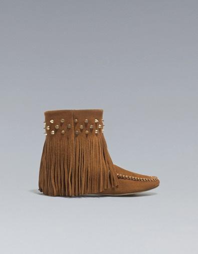BOTTINE KIOWA - Chaussures - TRF - ZARA France