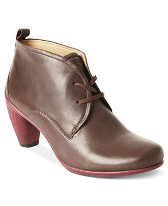 Ecco Women's Shoes, Sculptured Lace Booties - Boots - Shoes - Macy's