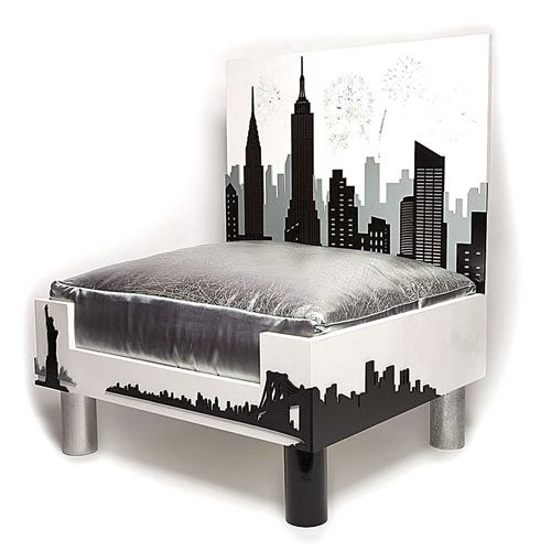 Ny Skyline Designer Dog Bed 2 600 The Pampered Pooch Interiors Inside Ideas Interiors design about Everything [magnanprojects.com]