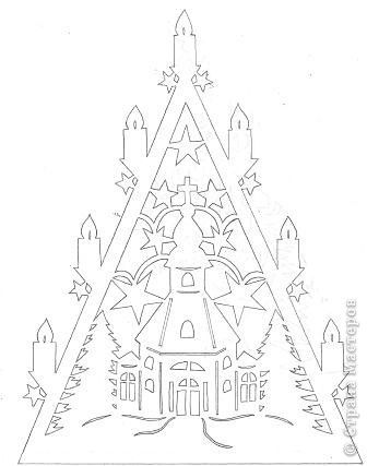 Вытынанка: Рождественские вытынанки Бумага Рождество. Фото 3