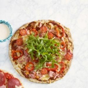 Roede-pizza med hjemmelaget bunn | www.greteroede.no | www.greteroede.no