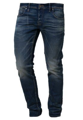 3301 LOW TAPERED - Jeans slim fit - medium aged