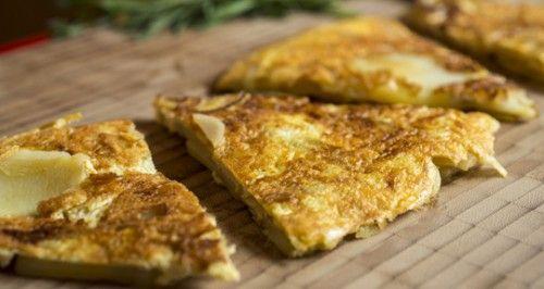 Receita Dedo de Moça: Tortilla de batata