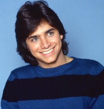 John Stamos and his awesome mullet in the early 90s...