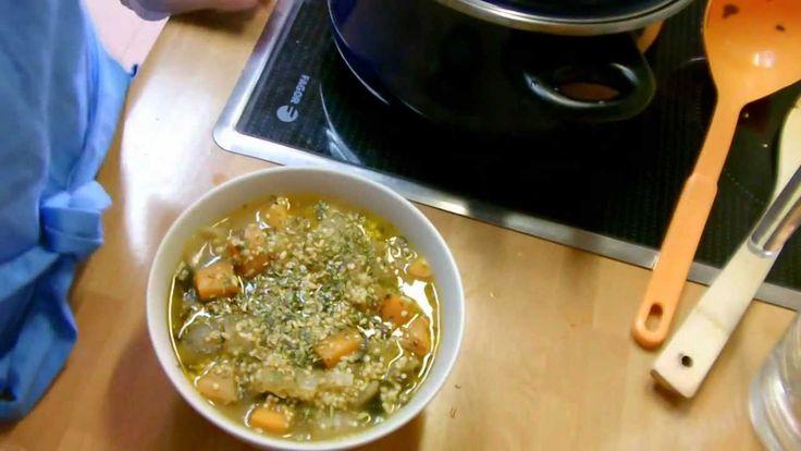 Sopa de Mijo con Algas - Cocinando Vegano - YouTube