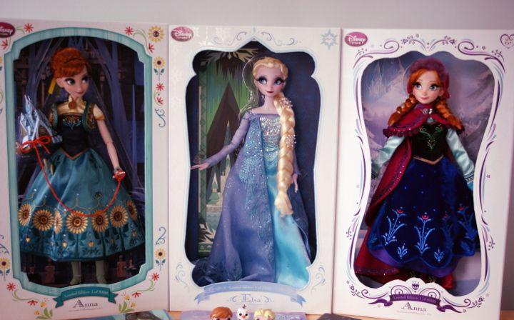 My Frozen dolls | Frozen-kokoelmani - Disnerd dreams