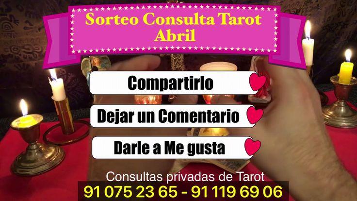 SORTEO CONSULTA DE TAROT GRATIS PARA ABRIL - Tarot y Videncia profesional ....