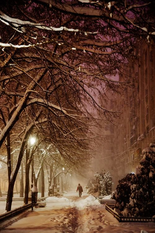 Winter in Bucharest (photo by Christophe Jacrot)