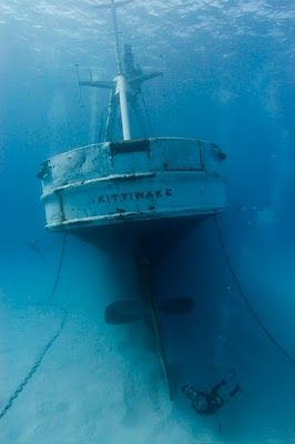 USS Kittiwake in Grand Cayman first wreck dive to be, February 2013!