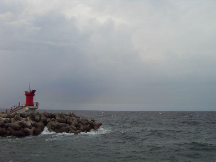 2015.9.5. Donghae 동해 Eastern Sea of Korea and lighthouse