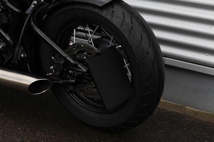Nummernschildhalter by WUNDERKIND-Custom   Die neuen Parts werden nicht mehr exklusiv nur für HD Motorräder konstruiert. Zukünftig wird das Produktportfolio auch auf Motorräder anderer Marken erweitert