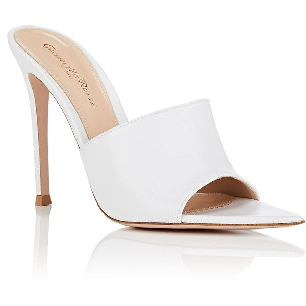 mules shoes, leather
