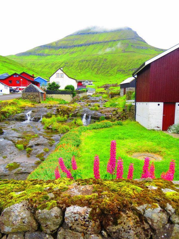 Faroe Islands.   Mapping Megan
