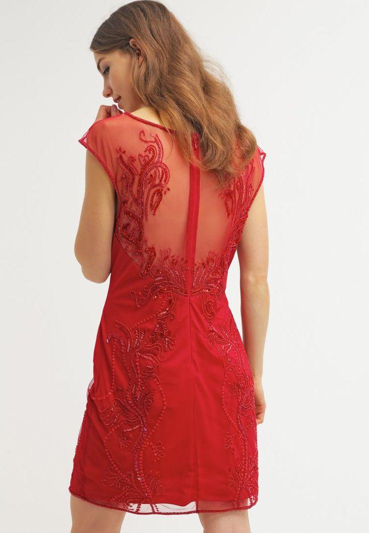 Zalando robe rouge