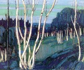 Silver Birches - Tom Thomson (1877-1917)