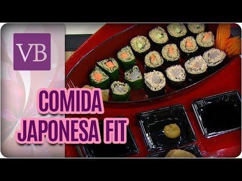 Festival de Comida Japonesa Fit - Você Bonita (21/11/17) - YouTube
