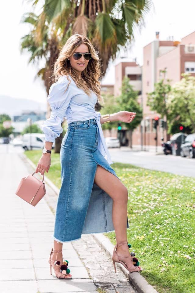 Conchy Copé outfit with the Onesixone ladies handbag. Conjunto de Conchy Copé con el bolso femenino de Onesixone. #onesixonebag
