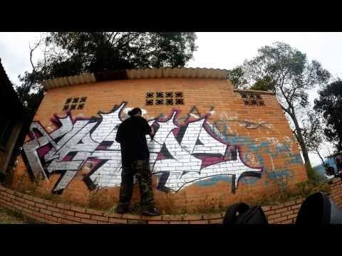 Timelapse graffiti. Desde la mesa Cundinamarca.